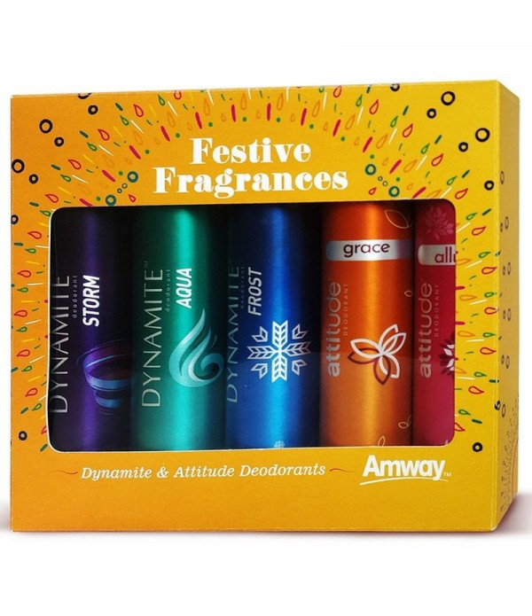 Festive Deo Pack of 5 (75ml)