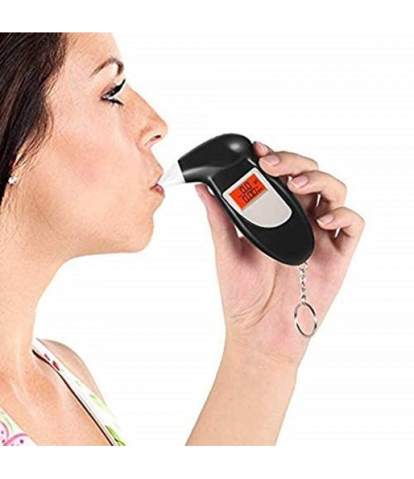 Digital Breath Analyzer Alcohol Tester M...