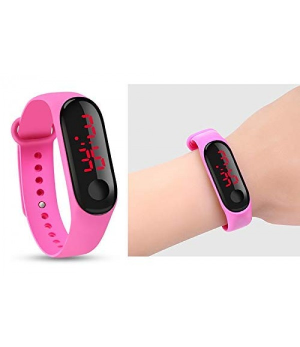New Digital Pink Colour Watch 2019