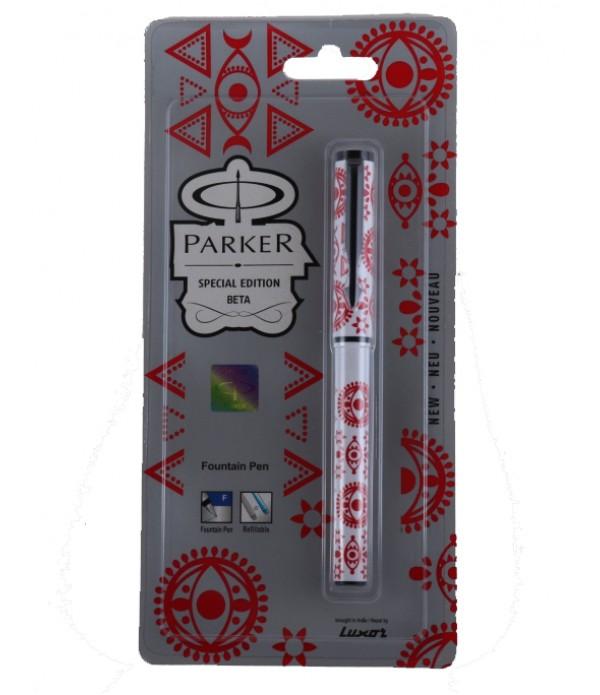 Parker Beta Fountain Pen Wafture (Body R...