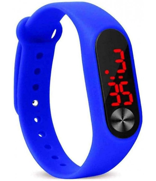 New Digital Blue Colour Watch 2019