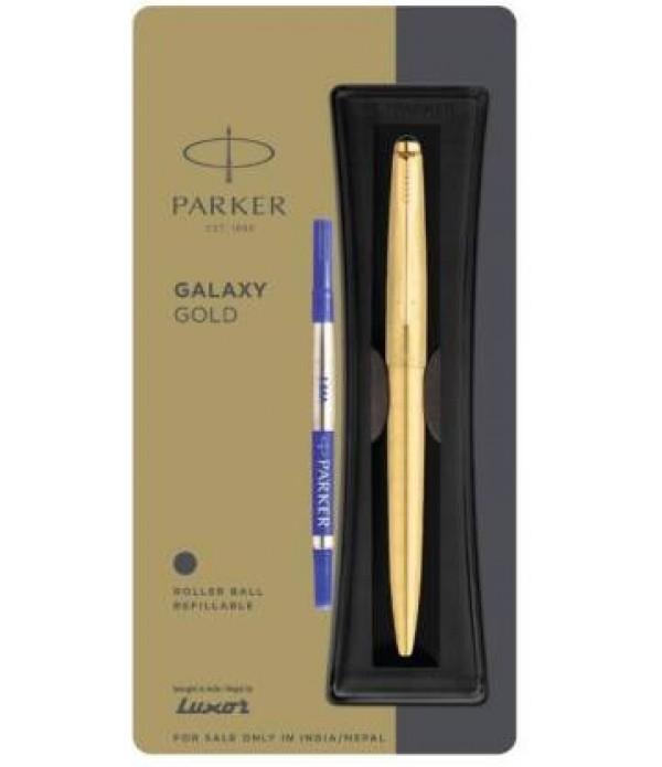 Parker Galaxy Gold Roller Ball Pen Roller Ball Pen