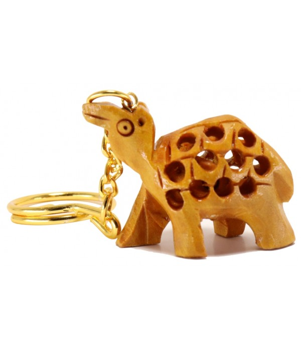 Wooden Camel key chain (L 4.00 CM X H 3....