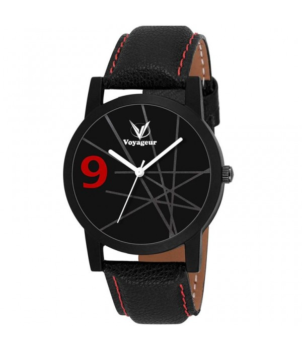 Voyageur Black Round Dial Wrist Watch fo...