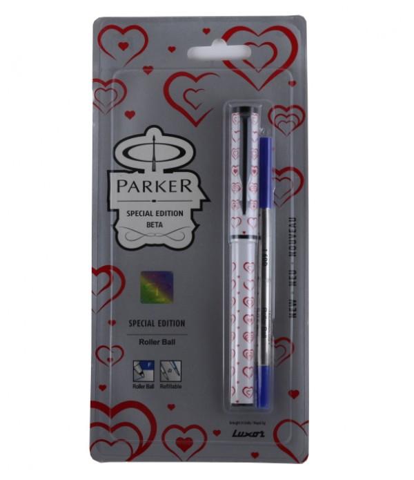 Parker Beta Fountain Pen Wafture Black R...