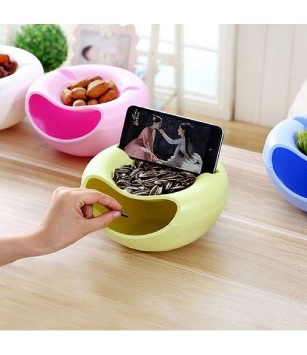 Fruit Platter Bowl with Smartphone Holde...