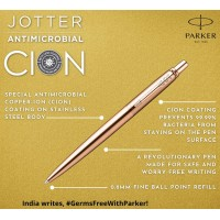 Parker Jotter Antimicrobial Copper Ion Ball Pen