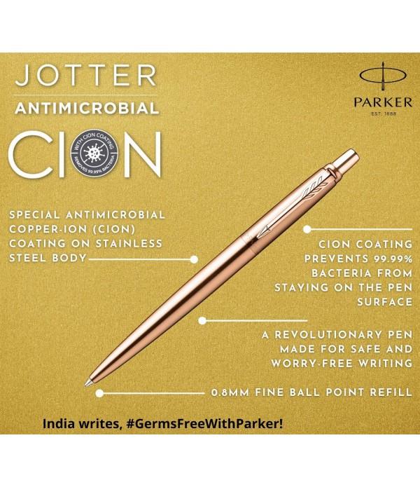 Parker Jotter Antimicrobial Copper Ion Ball Pen