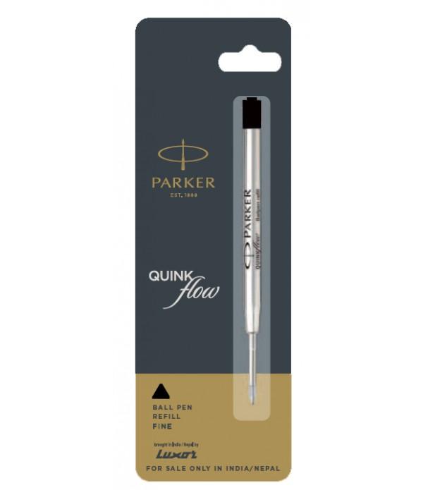 Parker Quink Black Flow Ball Pen Refills