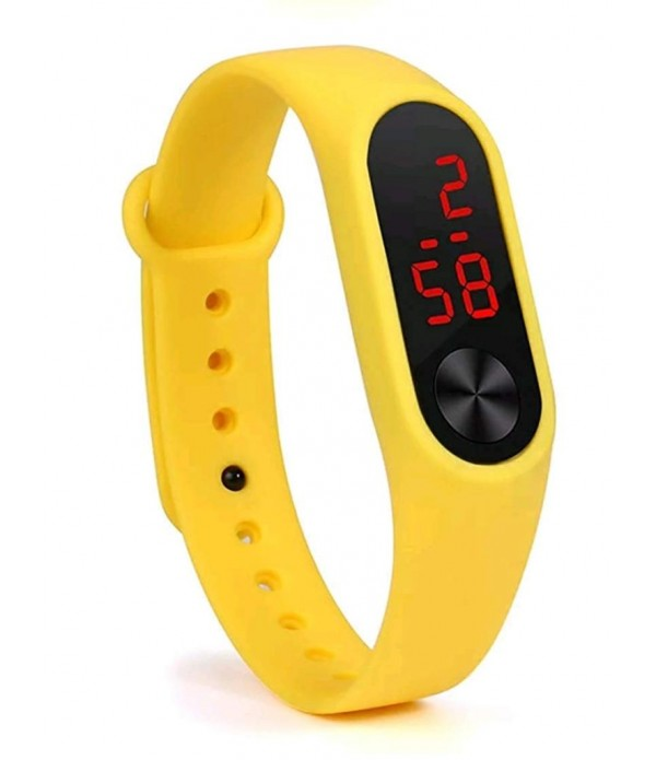 New Digital Yellow Colour Watch 2019