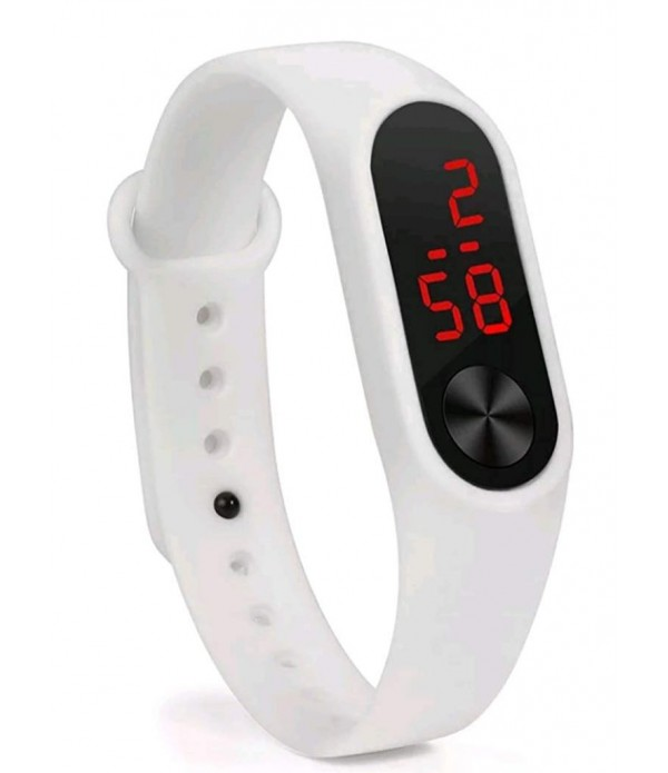 New Digital White Colour Watch 2019