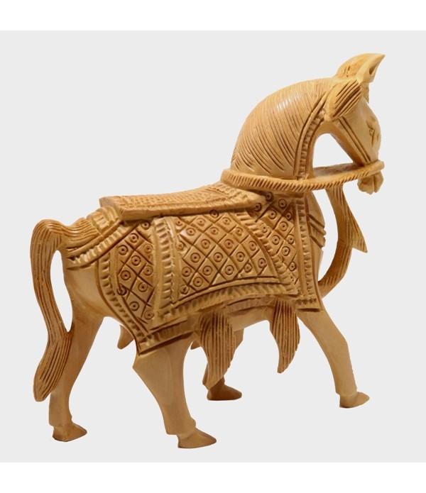 Wooden Horse  ( H 13.00 CM X L 13.00 CM )