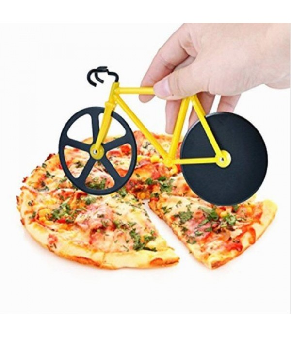 Bicycle Wheel Stainless Steel Pizza Slic...