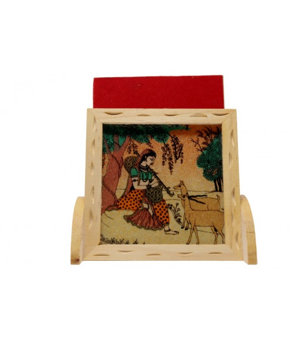 WOODEN MOBIL STAND ( L 10.00 CM X H 11.5...