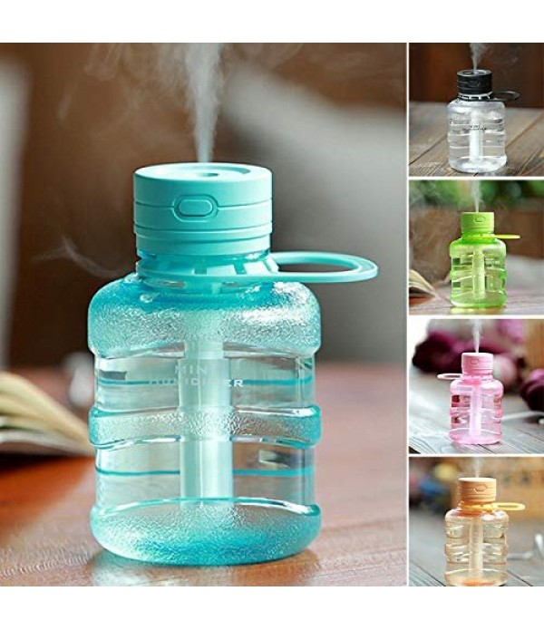 Bottle Humidifier Desk LED Night