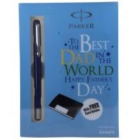 Parker Vector Standard Roller Ball Pen With Card Holder(Free)