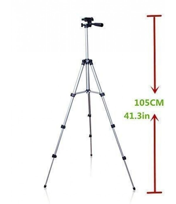 Tripod with Mobile Clip Holder Bracket,
