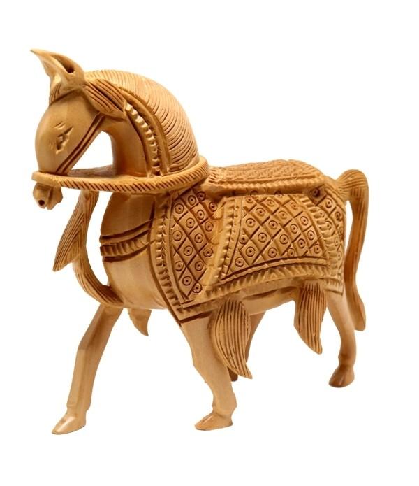 Wooden Horse  ( H 13.00 CM X L 13.00 CM ...