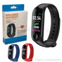M3 My Device My Life Smart Bracelet Sports Mileage Blood Pressure Heart Rate Monitor OLED M3 Band