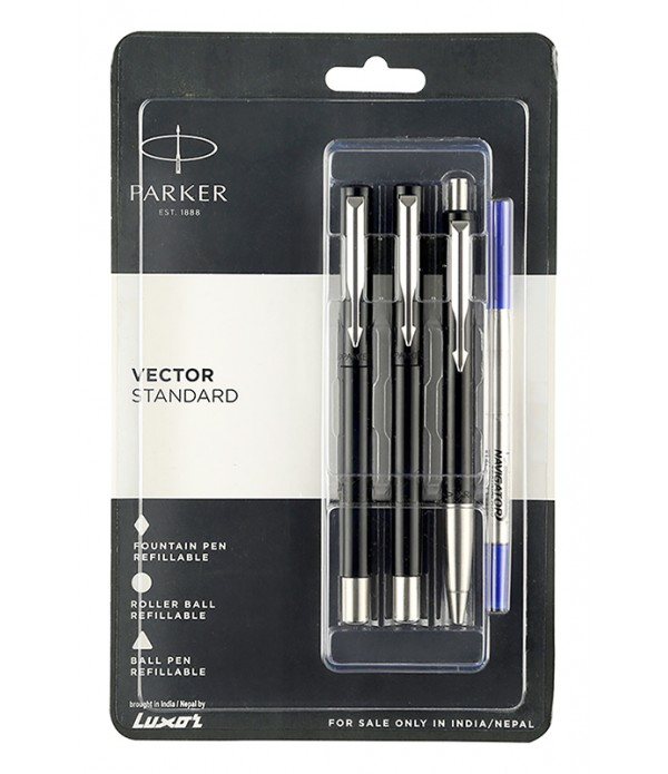 Parker Vector Std fountain roller ball pen