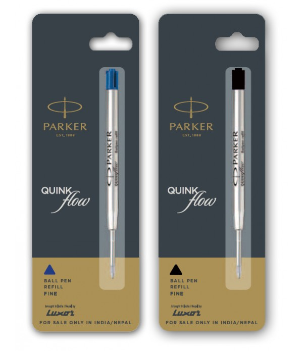 Parker Flow Ball Pen Combo Blue and Blac...