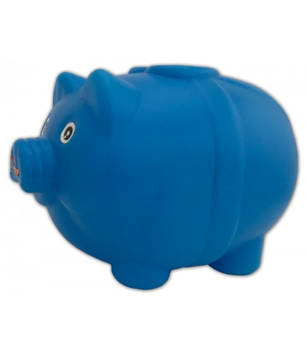Piggy Bank Four Grid Plastic Coin Bank (...