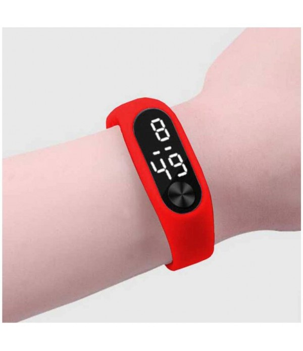 New Digital Red Colour Watch 2019